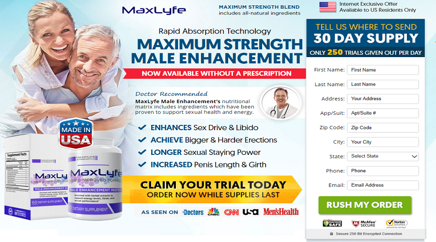 MaxLyfe Male Enhancement